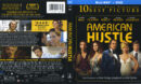 American Hustle (2013) R1 Blu-Ray Cover & Labels