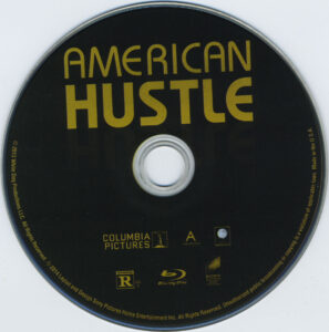 American Hustle blu-ray cover & labels (2013) R1