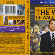 The Wolf Of Wall Street (2013) R1 Blu-Ray Cover & Labels