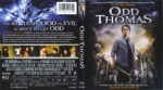 Odd Thomas (2013) R1 Blu-Ray Cover & Labels