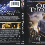 Odd Thomas (2013) R1 Blu-Ray Cover & Labels