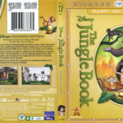 The Jungle Book (1967) R1 Diamond Edition Blu-Ray Cover & Labels