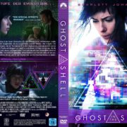 Ghost in the Shell (2017) R2 GERMAN Custom DVD Cover