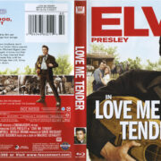 Love Me Tender (1956) R1 Blu-Ray Cover & Label