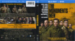 The Monuments Men (2014) R1 Blu-Ray Cover & Label