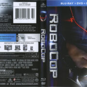 Robocop (2014) R1 Blu-Ray Cover & Label