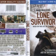 Lone Survivor (2013) R1 Blu-Ray Cover & Labels