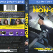 Non-Stop (2014) R1 Blu-Ray Cover & Labels