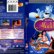 Aladdin Platinum Edition (1992) R1 DVD Cover