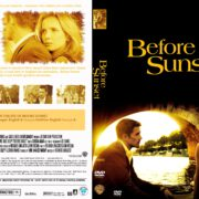 Before Sunset (2004) R1 DVD Cover