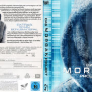 Das Morgan Project (2016) R2 German Custom Blu-Ray Cover & Label