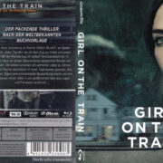 Girl on the Train (2016) R2 German Custom Blu-Ray Cover & labels