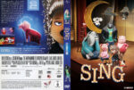 Sing (2016) R2 German Custom Cover & Labels