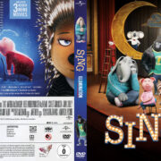 Sing (2016) R2 German Custom Cover & Labels
