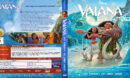 Vaiana - Das Paradies hat einen Haken 3D (2016) R2 German Custom Blu-Ray Cover & Label