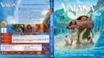 Vaiana – Das Paradies hat einen Haken 3D (2016) R2 German Custom Blu-Ray Cover & Label