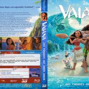 Vaiana – Das Paradies hat einen Haken 3D (2016) R2 German Custom Blu-Ray Cover & Label