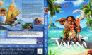 Vaiana - Das Paradies hat einen Haken (2016) R2 German Custom Blu-Ray Cover & Labels