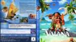 Vaiana – Das Paradies hat einen Haken (2016) R2 German Custom Blu-Ray Cover & Labels