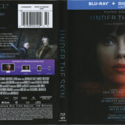 Under The Skin (2013) R1 Blu-Ray Cover & Label
