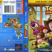 Toy Story 3 (2010) R1 Blu-Ray Cover & Labels