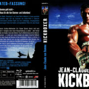 Kickboxer (1989) R2 German Blu-Ray Cover & Label