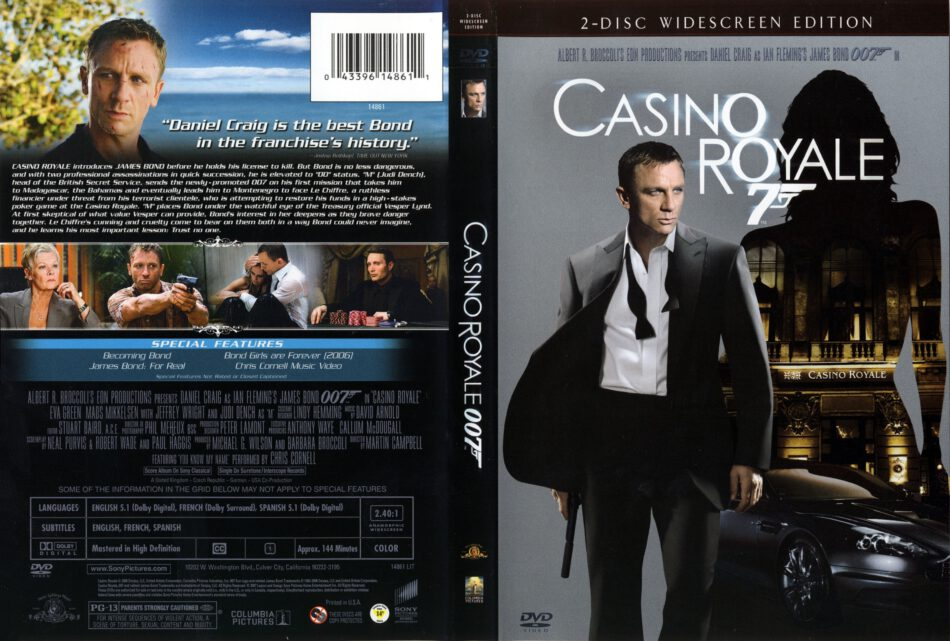casino royale dvd cover