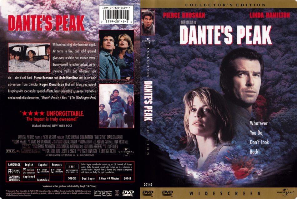 Dante S Peak Collector S Edition Dvd Cover 1997 R1
