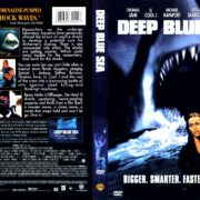 Deep Blue Sea (1999) R1 DVD Cover