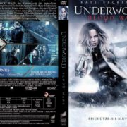 Underworld Blood Wars (2017) R2 GERMAN Custom DVD Cover