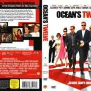 Ocean`s Twelve (2004) R2 German Cover & Label