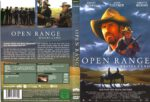 Open Range – Weites Land (2003) R2 German Cover & Label