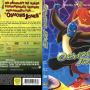 Osmosis Jones (2001) R2 German Cover & Label