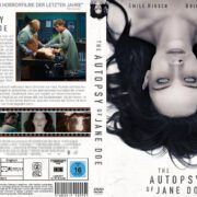 The Autopsy of Jane Doe (2016) R2 GERMAN Custom DVD Cover