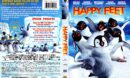 Happy Feet (2006) R1 DVD Cover