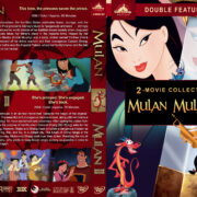 Mulan Double Feature (1998-2004) R1 Custom V3 Cover
