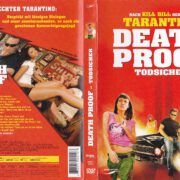 Death Proof – Todsicher (2007) R2 German DVD Cover & Label