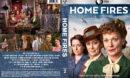 Home Fires - Season 2 (2017) R1 Custom Cover & Labels