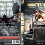 Monster Truck (2016) R2 GERMAN DVD Cover