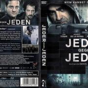 Jeder gegen Jeden (2016) R2 German Custom Blu-Ray Cover & Label