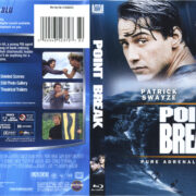 Point Break (1991) R2 German Blu-Ray Cover & Label