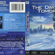 The Day After Tomorrow (2004) R1 Blu-Ray Cover & Label