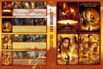 The Scorpion King Quatrologie (2015) R2 German Custom Blu-Ray Cover & Labels