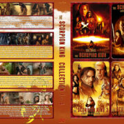 The Scorpion King Quatrologie (2015) R2 German Custom Cover & labels
