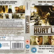 The Hurt Locker (2008) R2 Blu-Ray Cover & Label
