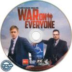 War On Everyone (2016) R4 DVD Label