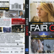 Fair Game (2010) R1 Blu-Ray Cover & Label