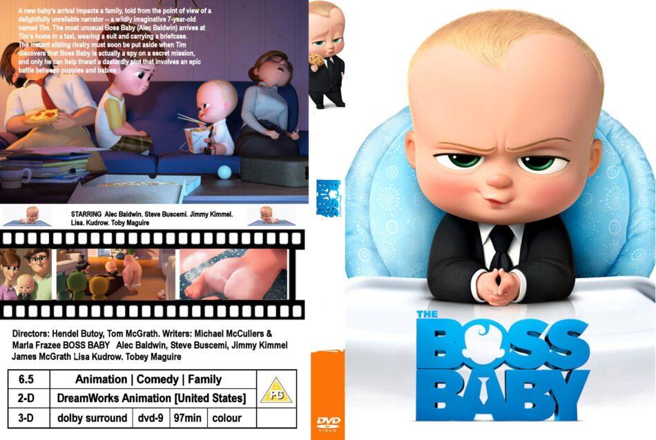 The Boss Baby Dvd Cover Label 2017 R0 Custom