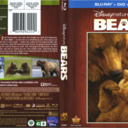 Disneynature: Bears (2014) R1 Blu-Ray Cover & Labels