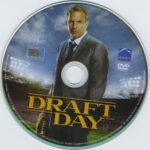 Draft Day (2014) R1 DVD Label